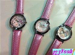 Ảnh số 34: Đồng hồ Kitty thời trang cực đẹp DHTT9 - Giá: 210.000