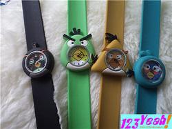 Ảnh số 43: Đồng hồ thước kẻ Angry Bird nổi bật DHTK7 - Giá: 95.000