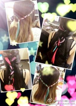 Ảnh số 3: line tóc màu - Giá: 60.000