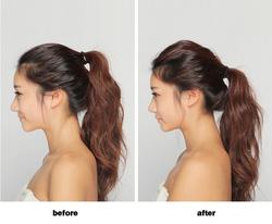 Ảnh số 19: trước và sau dùng phồng tóc - Giá: 40.000