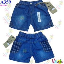 Ảnh số 63: Quần short jean nam 384/8 ,bé 1t-8t - Giá: 1.100