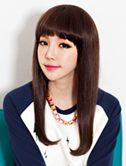 Ảnh số 62: Korea tóc thẳng ôm ngực mái bằng - Giá: 750.000