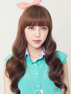 Ảnh số 84: Korea  A201 tóc xoăn xinh - Giá: 850.000