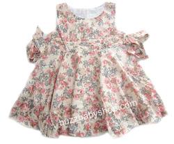 Ảnh số 18: Đầm kate mềm Sweet Heart Rose XUẤT, 5>7tuổi, trộn màu 6cái - Giá: 1.000