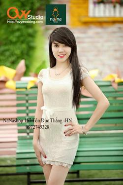 Ảnh số 24: Váy REN ÔM THẮT DÂY( MS V1008) : 195k - Giá: 195.000