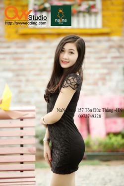 Ảnh số 39: Váy REN HOA ÔM ( MS V1008) : 195k MÀU : ĐEN - Giá: 195.000