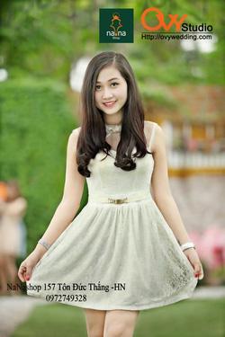 Ảnh số 40: Váy ren thiết kế ( MS V1014) : 480k - Giá: 480.000