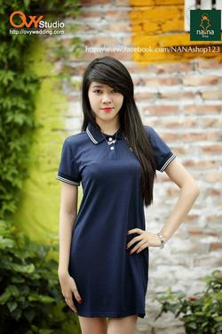 Ảnh số 83: Váy phông thể thao ( MS V1001) : 200k chất:cotton màu: trắng, tím than, xám - Giá: 200.000