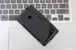 Ảnh số 10: - Ốp Lưng Nokia LUMIA 520 Silicon S-LINE - Giá: 70.000