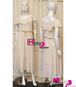 Ảnh số 90: váy voan lụa maxi vai rớt - Giá: 500.000