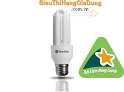 Ảnh số 31: Đèn tiết kiệm điện đui xoáy dạng chữ U RẠNG ĐÔNG CFL 3UT3 14W - Giá: 40.000