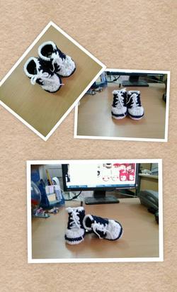 Ảnh số 20: Giày len cao cổ - Giá: 100.000