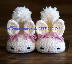 Ảnh số 46: Giày thỏ trắng - Giá: 80.000