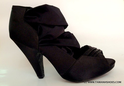 Ảnh số 19: Sandal cao gót Việt Nam xuất khẩu WIDE FIT X07 size37 - Giá: 460.000