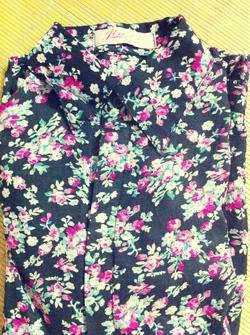Ảnh số 34: Áo lanh hoa nhí, chất mát, mặc cực xinh - Giá: 170.000
