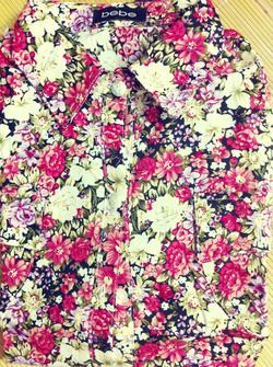 Ảnh số 36: Áo sơ mi hoa 2 túi, chất cotton mát mịn, khác với loại không có túi nhé - Giá: 170.000