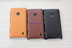 Ảnh số 41: - Ốp Lưng NOKIA Lumia 520 DOLIDA Nhựa Giả Da - Giá: 100.000