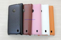 Ảnh số 42: - Ốp Lưng NOKIA Lumia 520 DOLIDA Nhựa Giả Da - Giá: 100.000