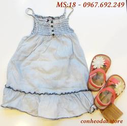 Ảnh số 9: Váy bò bé gái từ 2 -10 tuổi - Giá: 165.000