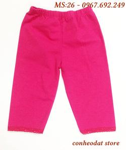 Ảnh số 19: Quần legging hồng bó cho bé từ 1-8 tuổi - Giá: 40.000