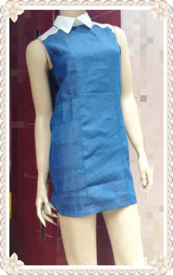 Ảnh số 37: Váy Denim cổ sơ mi, vai pha ren, chất đẹp, size S, M - 250k - Giá: 250.000