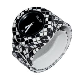 Ảnh số 15: Slap Watch Argyle Black / WhiteSlap Watch Argyle Black / White - Giá: 660.000