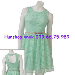 Ảnh số 51: Váy ren xanh City Traight: 300.000 - Giá: 220.000