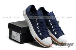 Ảnh số 85: Giày Converse Navy - Giá: 450.000