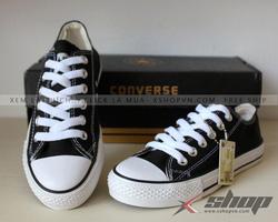 Ảnh số 4: Giày Converse Classic vải đen - Giá: 199.000