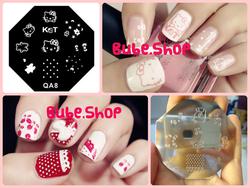 Ảnh số 32: Stamping nail art bube shop - Giá: 20.000