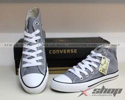Ảnh số 40: Giày Converse Classic cao cổ màu Ghi - Giá: 220.000