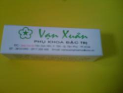 Ảnh số 7: phụ khoa đặc trị VẠN XU&AcircN của ph&ograveng kh&aacutem đ&ocircng y Vạn Xu&acircn. - Giá: 100.000