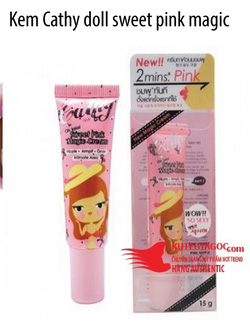 Ảnh số 26: Kem Cathy doll sweet pink magic cream - Giá: 120.000