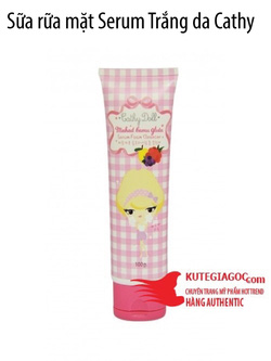 Ảnh số 40: Sữa rữa mặt Serum Trắng da Cathy Doll - Giá: 110.000
