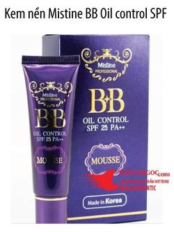 Ảnh số 61: Kem nền Mistine BB Oil control SPF 25 PA++ - Giá: 95.000