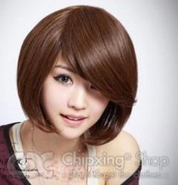 Ảnh số 57: tóc giả xoăn nhẹ Hàn quốc - Giá: 650.000
