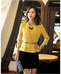 Ảnh số 53: váy áo rời Mùa hoa hướng dương, màu vàng - Giá: 340.000
