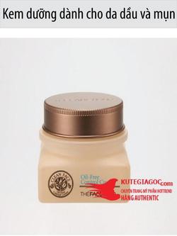 Ảnh số 54: Kem dưỡng dành cho da dầu và mụn -Clean Face Oil Free Control Cream - Giá: 168.000