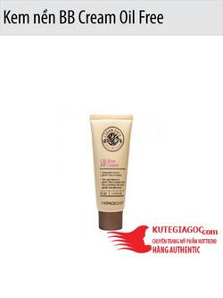 Ảnh số 57: Kem nền BB Cream Oil Free The Face Shop - Giá: 165.000