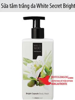 Ảnh số 72: Sữa tắm trắng da White Secret Bright Capsule Body Wash The face shop - Giá: 195.000