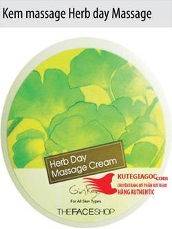 Ảnh số 73: Kem massage Herb day Massage Cream Hàn Quốc - Giá: 117.000