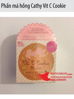 Ảnh số 70: Phấn má hồng Cathy Vit C Cookie Blusher - Giá: 130.000