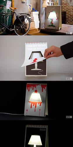 Ảnh số 11: Đèn lịch để bàn, đèn ngủ quyển lịch tự trang trí. - Giá: 138.000