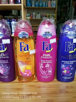 Ảnh số 17: Sữa tắm FA các mùi hương hoa rất quyến rũ - Giá: 190.000
