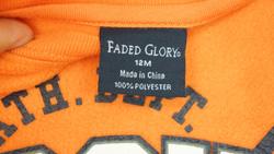 Ảnh số 79: Bộ nỉ áo cam Face Glory - Giá: 10.000
