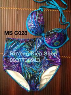Ảnh số 83: Bikini cạp cao vintage - Giá: 350.000