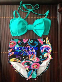 Ảnh số 88: Bikini cạp cao vintage - Giá: 350.000
