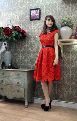 Ảnh số 4: Váy ren cao cấp TK09 - Giá: 1.020.000