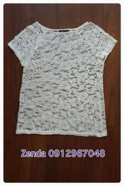 Ảnh số 28: áo ren MNG trắng tinh tiểu thư - Giá: 200.000