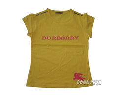 Ảnh số 18: Áo thun Burberry in nổi- vàng - Giá: 105.000